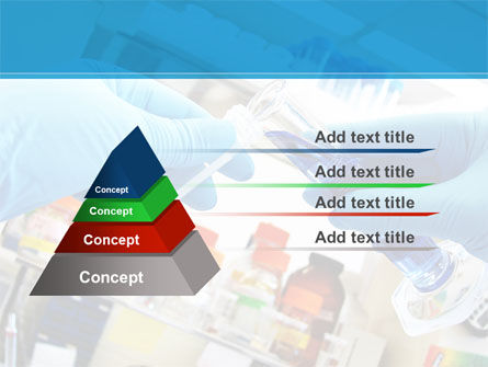 Thin Laboratory Tests Free PowerPoint Template, Slide 4, 08586, Technology and Science — PoweredTemplate.com