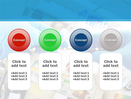 Thin Laboratory Tests Free PowerPoint Template Slide 5
