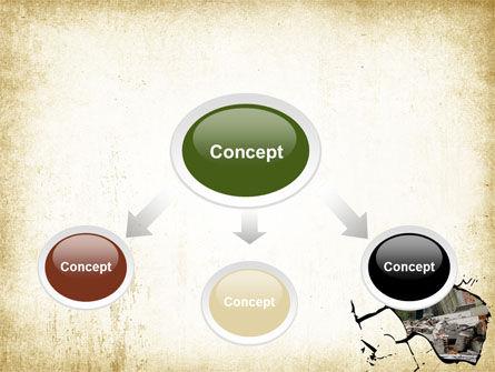 Building Destruction PowerPoint Template, Slide 4, 08587, Nature & Environment — PoweredTemplate.com