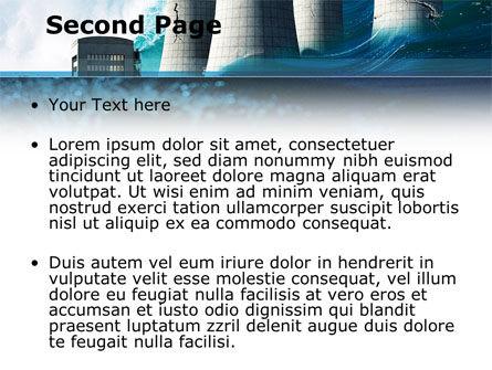 Natural Disaster PowerPoint Template, Slide 2, 08590, Nature & Environment — PoweredTemplate.com
