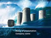 Nature & Environment: Natural Disaster PowerPoint Template #08590