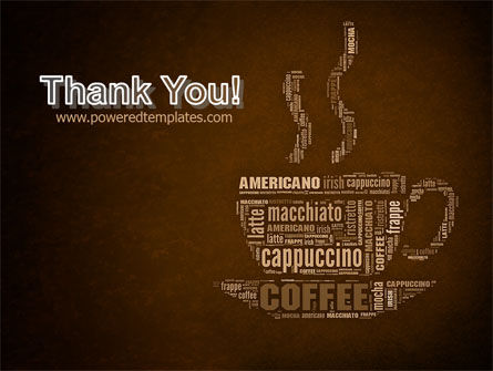 Coffee Break With Various Coffee PowerPoint Template Slide 20