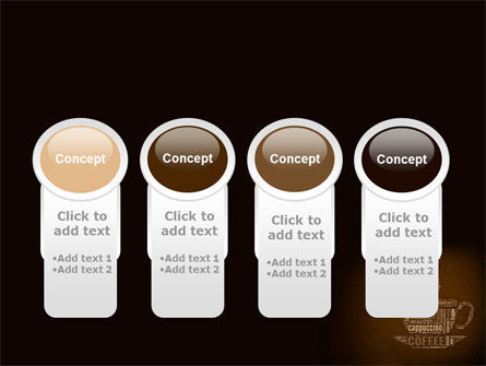 Coffee Break With Various Coffee PowerPoint Template Slide 5