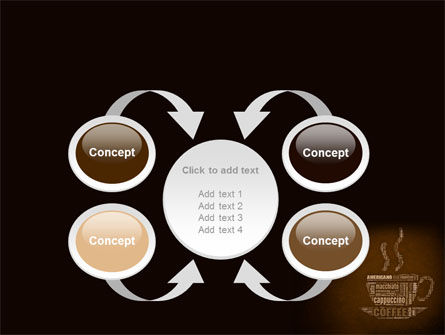 Coffee Break With Various Coffee PowerPoint Template Slide 6
