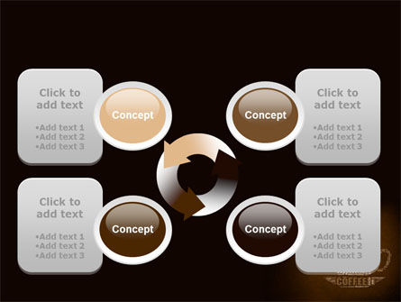 Coffee Break With Various Coffee PowerPoint Template Slide 9