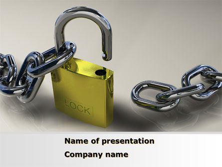 Consulting: Security Guarantee PowerPoint Template #08594