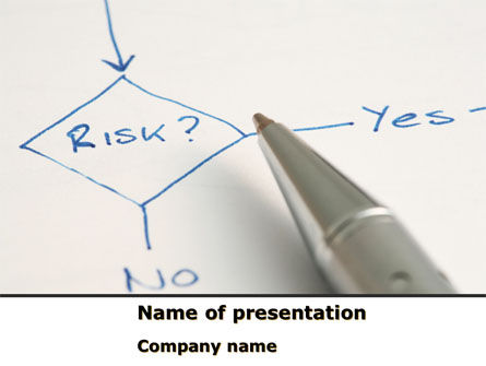 Consulting: Risk Outputs PowerPoint Template #08595