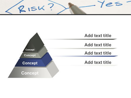 Risk Outputs PowerPoint Template Slide 12
