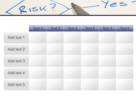 Risk Outputs PowerPoint Template Slide 15