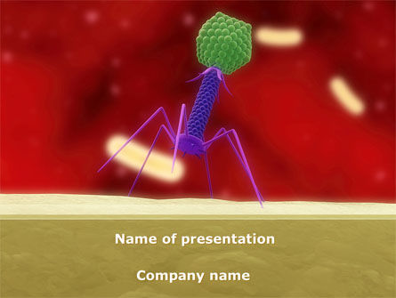 Infection PowerPoint Template, 08597, Medical — PoweredTemplate.com