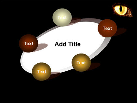 Black Cat PowerPoint Template Slide 14