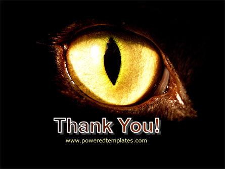 Black Cat PowerPoint Template Slide 20