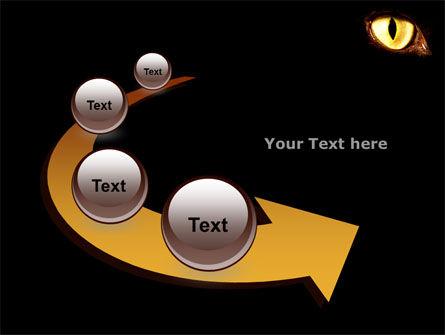Black Cat PowerPoint Template Slide 6