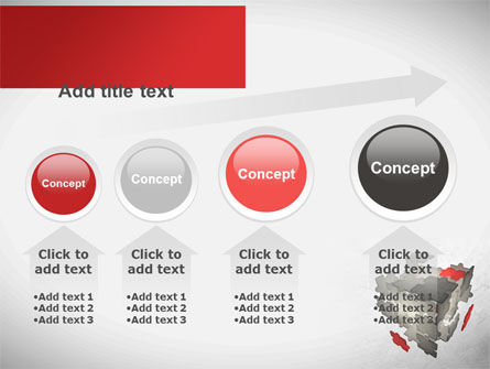 Puzzle Cube PowerPoint Template Slide 13