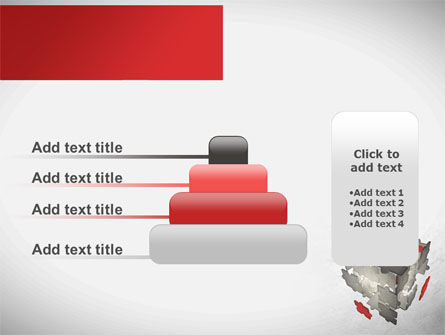 Puzzle Cube PowerPoint Template Slide 8