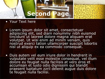 Beer Collage PowerPoint Template, Slide 2, 08604, Careers/Industry — PoweredTemplate.com