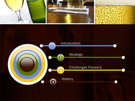 Beer Collage PowerPoint Template Slide 3
