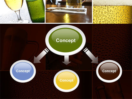 Beer Collage PowerPoint Template, Slide 4, 08604, Careers/Industry — PoweredTemplate.com