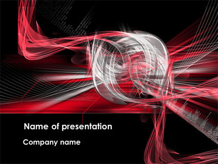 Abstract/Textures: Unilateral Surface PowerPoint Template #08607