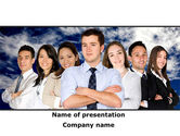 People: Team Spirit PowerPoint Template #08608