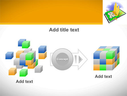 City Structure PowerPoint Template Slide 17