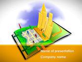 Construction: Modello PowerPoint Gratis - Struttura città #08609