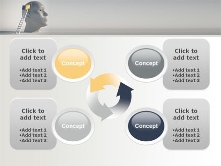Window To Brain PowerPoint Template Slide 9