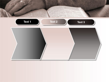 Bible Study PowerPoint Template Slide 16