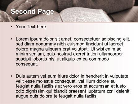 Bible Study PowerPoint Template Slide 2