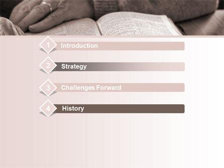 Bible Study PowerPoint Template Slide 3
