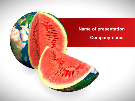 Sweet Watermelon PowerPoint Template