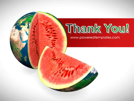 Sweet Watermelon PowerPoint Template Slide 20