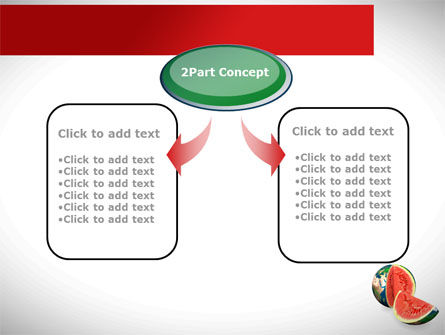 Sweet Watermelon PowerPoint Template Slide 4