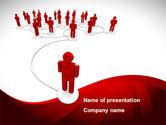 Technology and Science: Plantilla de PowerPoint - comunidad de internet #08617