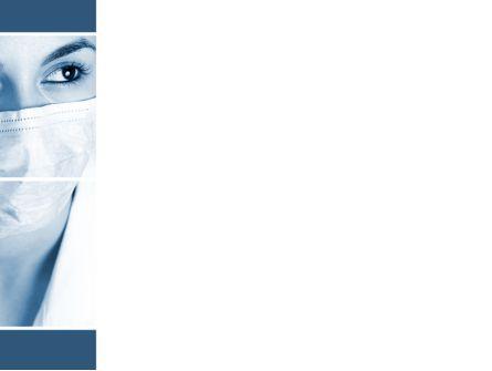 Medical Mask PowerPoint Template, Slide 3, 08619, Medical — PoweredTemplate.com