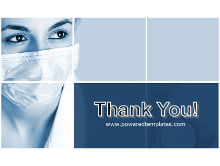 Medical Mask PowerPoint Template Slide 20