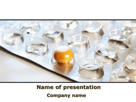 Last Pill PowerPoint Template, 08623, Medical — PoweredTemplate.com