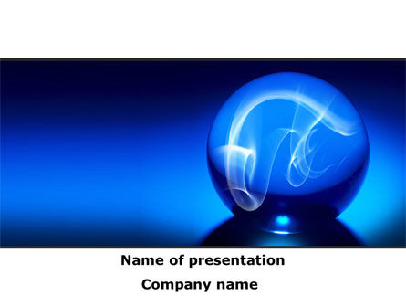 Business: Magic Eye PowerPoint Template #08627