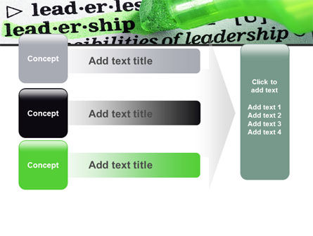 Rights And Responsibilities Of A Leader PowerPoint Template Slide 12