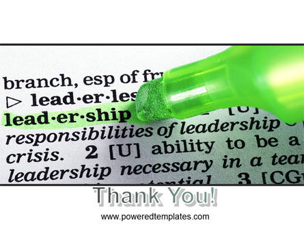 Rights And Responsibilities Of A Leader PowerPoint Template Slide 20