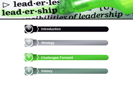 Rights And Responsibilities Of A Leader PowerPoint Template Slide 3