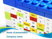 Consulting: Maand Planning PowerPoint Template #08631