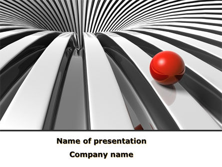New Direction PowerPoint Template, 08633, Business Concepts — PoweredTemplate.com