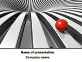 Business Concepts: New Direction PowerPoint Template #08633