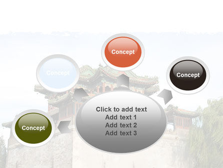 China Town PowerPoint Template Slide 7