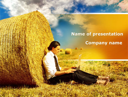 Business Concepts: Open Air PowerPoint Template #08635
