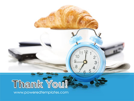 Alarm Clock PowerPoint Template Slide 20
