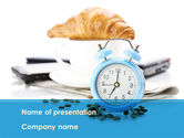 Consulting: Alarm Clock PowerPoint Template #08637