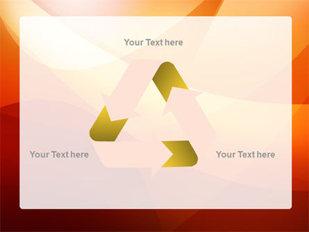 Orange Wave PowerPoint Template Slide 10
