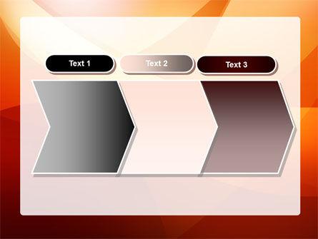 Orange Wave PowerPoint Template Slide 16